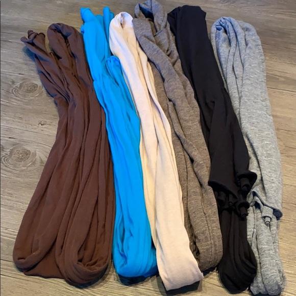 American Apparel Accessories - American Apparel scarves - 6 in total